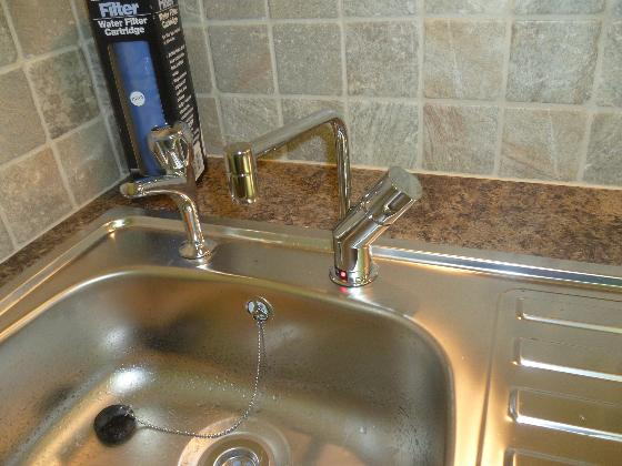 Close up tap