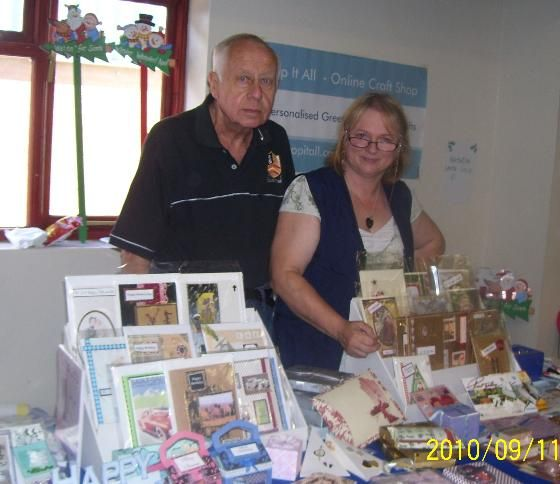 Bob with Me at Craft Fair
