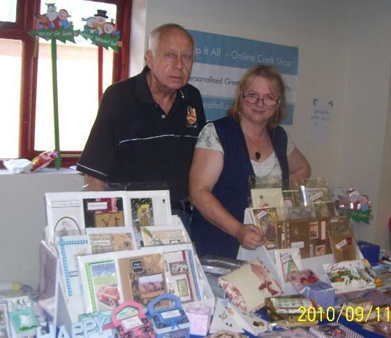 Bob with Me at Craft Fair