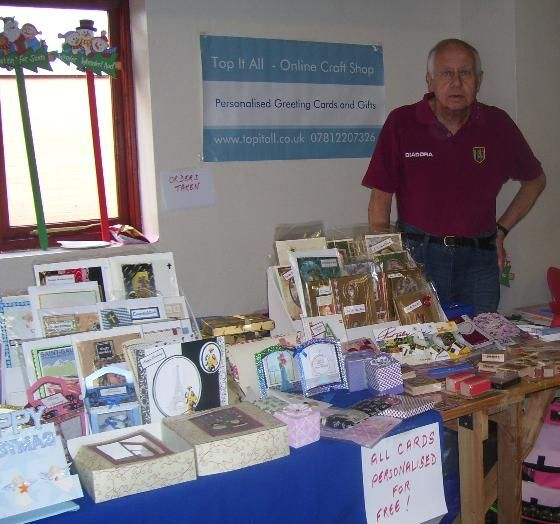 Bob at a craft Fair